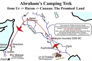 map-of-abrahams-trek